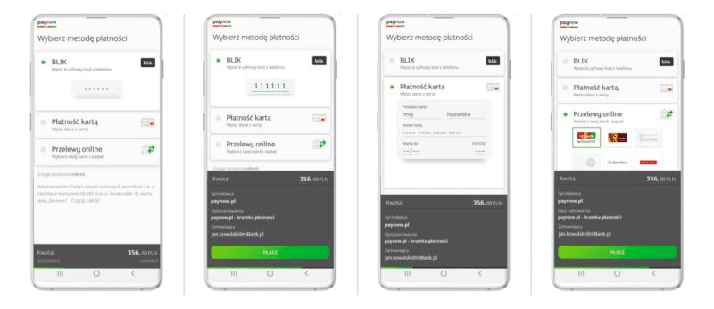 metody płatności paynow mbank