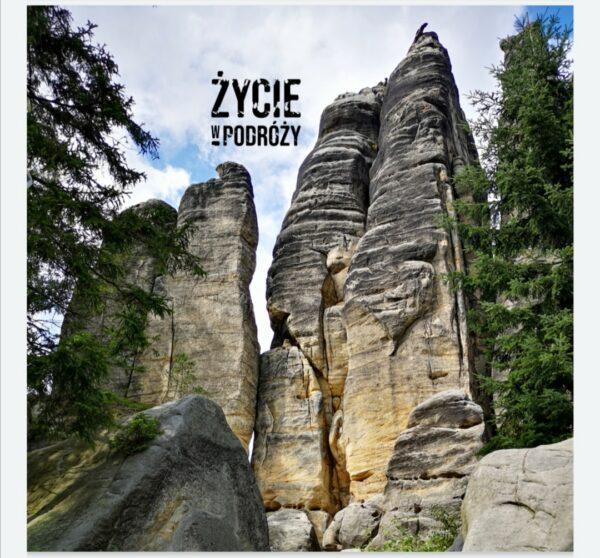 bandana komin szal turystyczny chusta turystyczna pomysł na prezent motyw góry skalne miasta pomysł na prezent dla podróżnika i sportowca