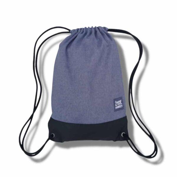 worek plecak podrożniczy worko-plecak pomysł na prezent dla podróżnika co na prezent pomysł niebieski kolor