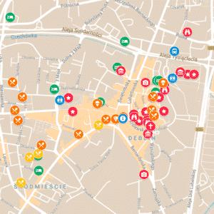 turystyczna mapa lublina google maps