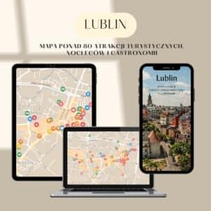 mapa atrakcji turystycznych lublin